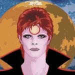 BOWIE: Stardust, Rayguns, and Moonage Daydreams, particolare di copertina