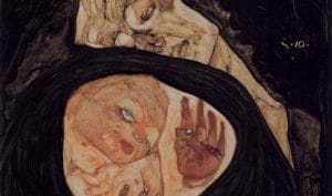 Mamma - Schiele - Tote Mutter - 1910
