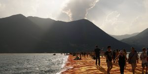 The Floating Piers Monte Isola